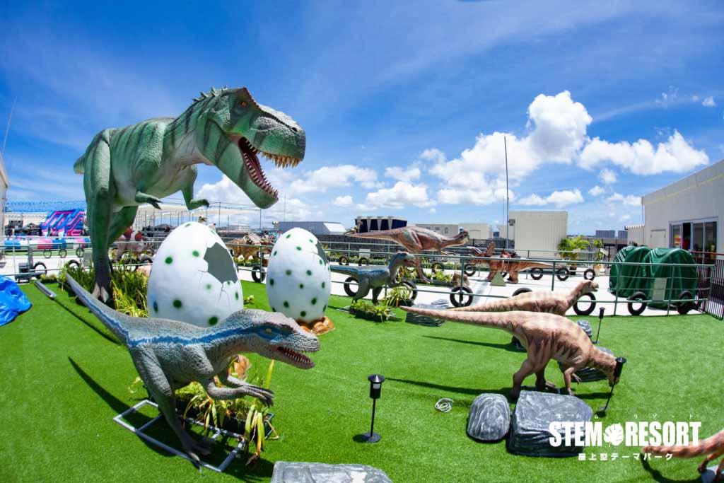 ティラノサウルス001|ステムリゾート STEM-RESORT 沖縄豊崎 恐竜図鑑