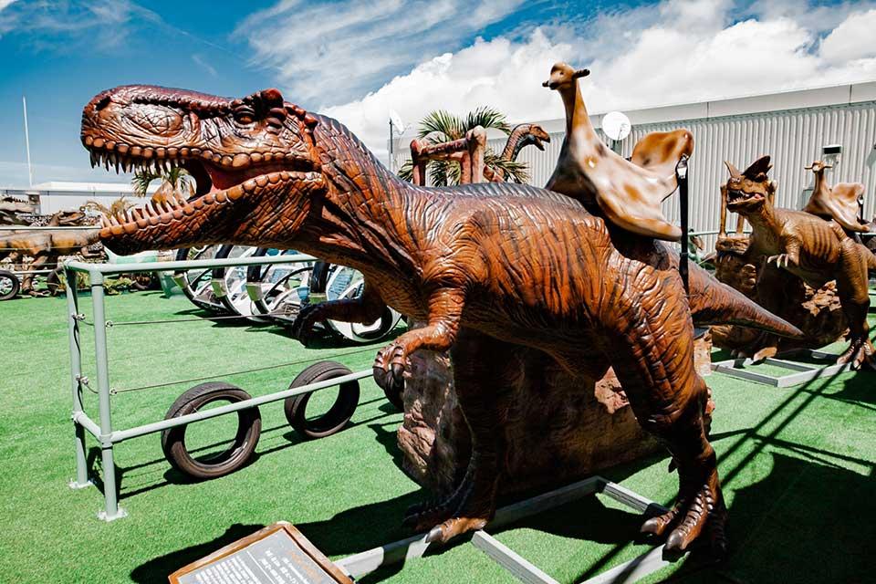 ティラノサウルス003|DINOSAUR BBQ & PARK|ステムリゾート沖縄 恐竜図鑑