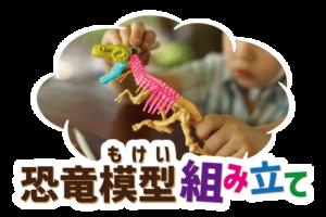 恐竜模型組み立て体験|ステムリゾート STEM RESORT沖縄