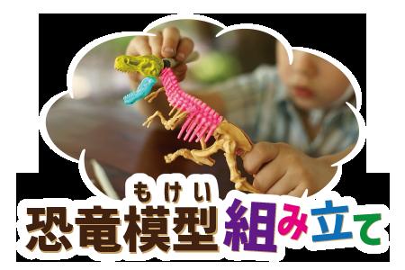 体験プログラム 恐竜模型組み立て体験プログラム|ステムリゾート STEM-RESORT 沖縄豊崎