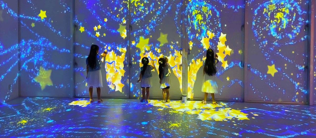 ひたすら可愛いミュージアム プロジェクションマッピング|ステムリゾート STEM-RESORT 沖縄豊崎